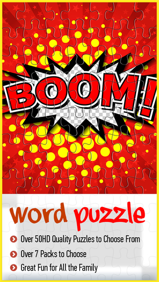 Words Puzzle Jigsaw-Play and Learn with HD Images for Free