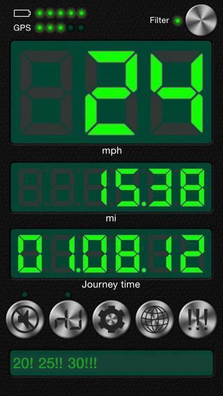 Speedometer Free + Speed Limit Alert