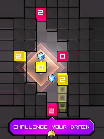 Mind The Cubes: The challenging match puzzle game Screenshots