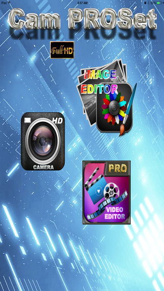 Camera PROSet Ultimate - Get the total PHOTO and V