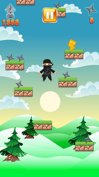 An Iron Ninja Jump - Speedy Samurai Jumping Battle Pro