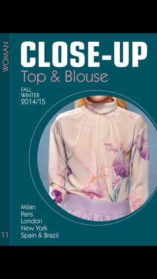 Close-Up Woman Top Blouse