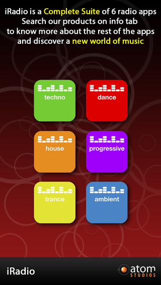 iRadio: Trance iPhone Screenshot 5