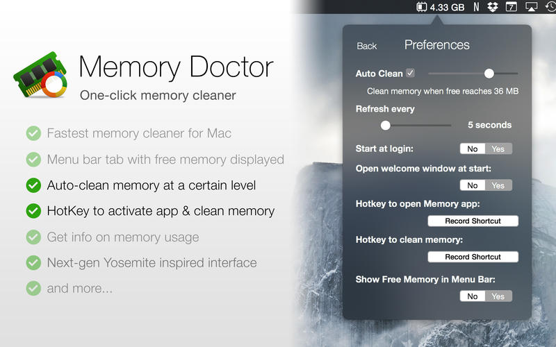 Memory Doctor Screenshot - 2