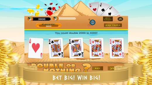 Video Poker LITE - Pyramids Treasure