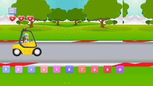 Kids typing Racing For Kids - typing games