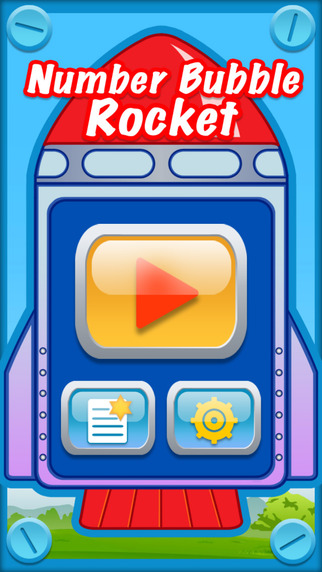 Number Bubble Rocket -The Free Math Games Competition