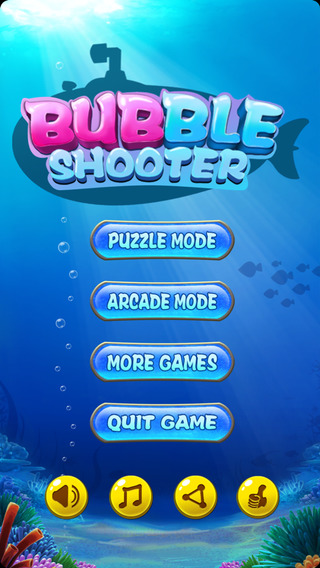【免費遊戲App】Ocean Shoot Bubble-APP點子