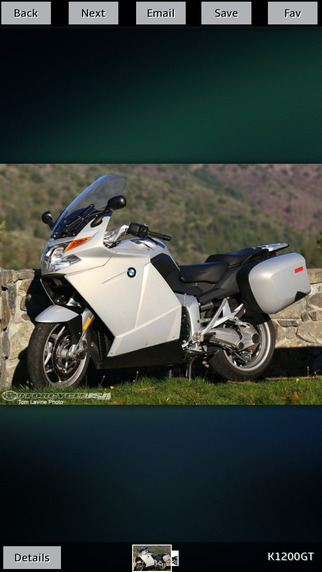 Motorcycles specs for BMW