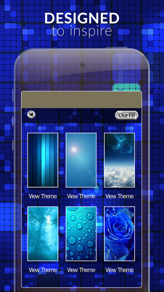 Blue Gallery HD – Effects Pictures Retina Wallpapers Themes and Backgrounds