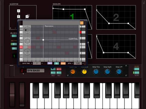 DXi FM synthesizer Screenshots