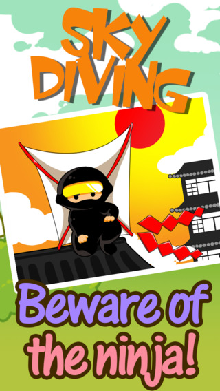 Amazing Sky Diving Ninja HD - Death From Above