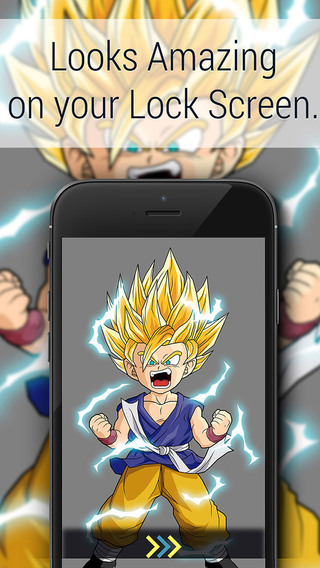 HD Wallpapers for Dragon Ball Z DBZ Edition with free photo editor : Unofficial Version