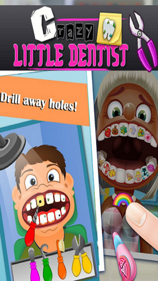 Crazy Little Dentist: Kids Fun
