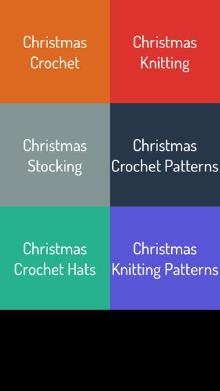 Christmas Crochet Knitting Ideas