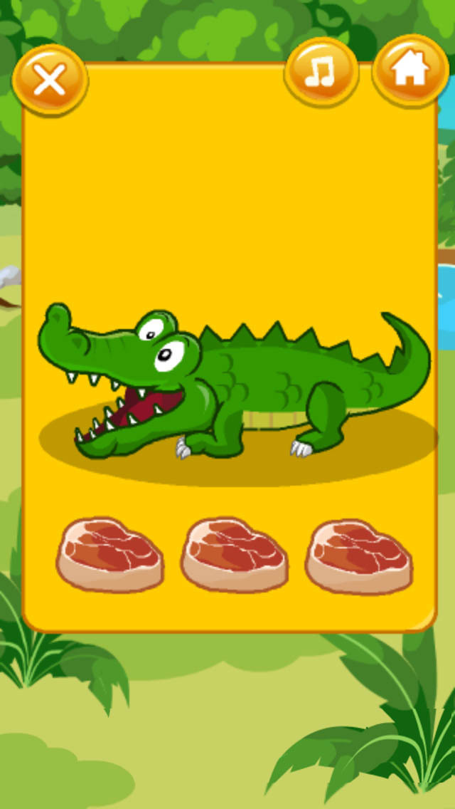 在这个游戏中,我们要和可爱的女孩珍妮一起照顾一直小鳄鱼 应用信息