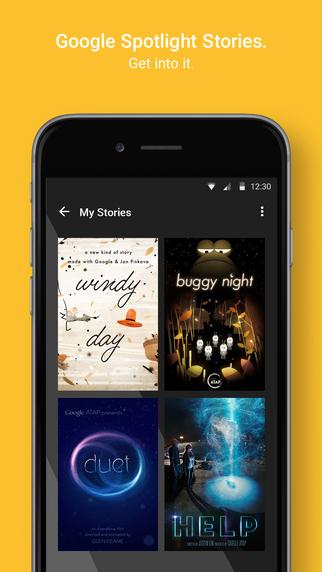 移动电影院 – Google Spotlight Stories [iOS]