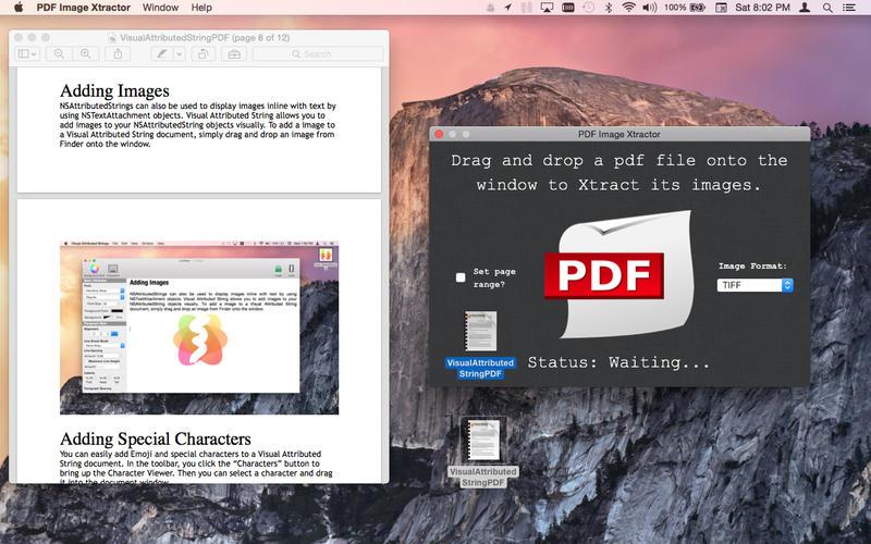 PDF Image Xtractor Screenshots