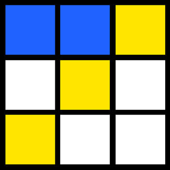 Tic Tac Toe - Color LOGO-APP點子