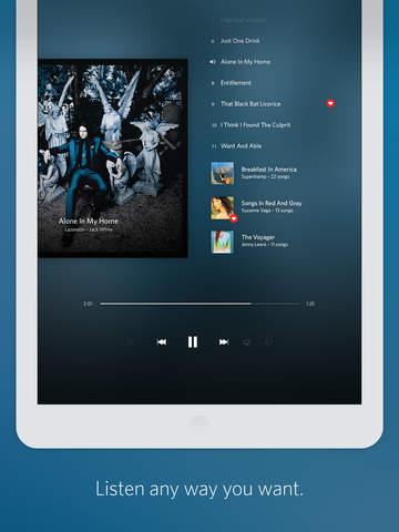 Screenshot 2 Rdio Music