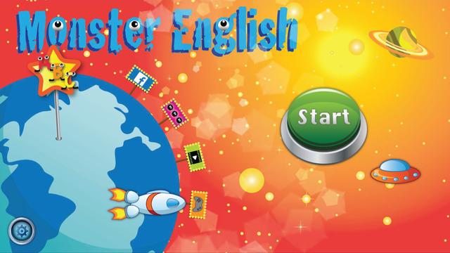 Monster English - Alphabet Game