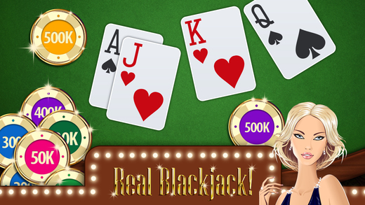 Blackjack 21 Free - Max Bet For Winning Streak