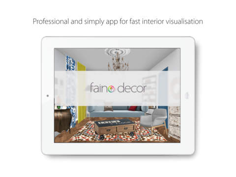 Faino Decor — interior design app for professionals and creative people who want decorate their own