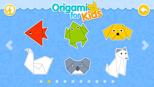 origami for kids children s creative handcraft games screenshot