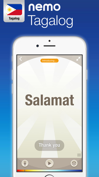 Tagalog by Nemo – Free Language Learning App for iPhone and iPad