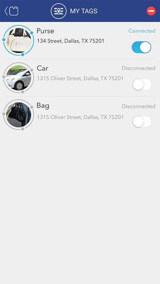 WhereIsMyTag - Find or never forget your items by attaching a Tag