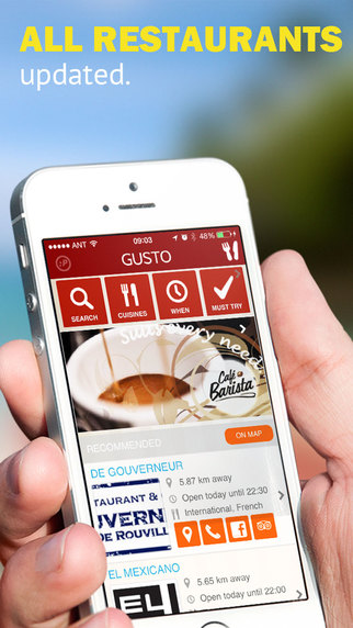 Gusto The Curacao Restaurant Guide