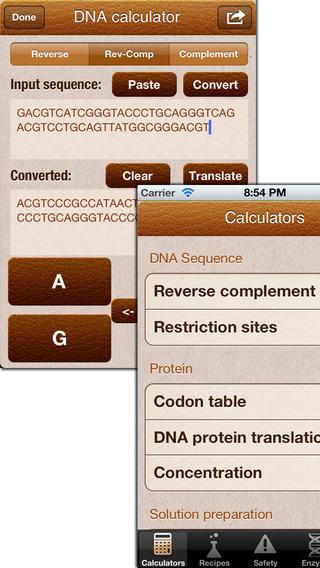 Mr BioChem - Biochemistry lab help