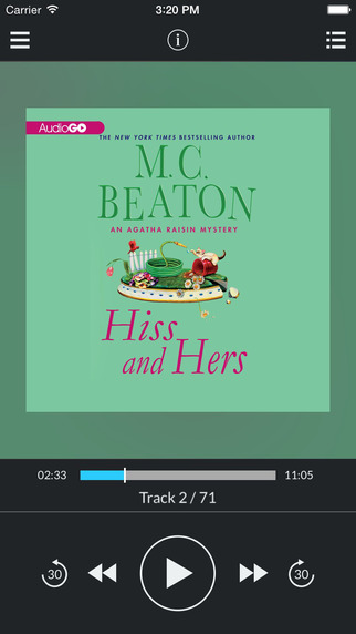 Hiss and Hers by M. C. Beaton UNABRIDGED AUDIOBOOK