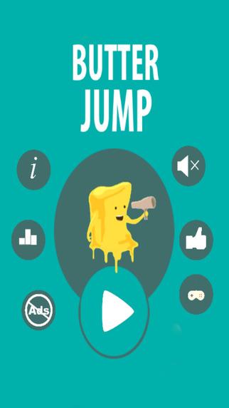 Sticky jelly - the butter jump