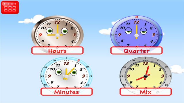 Learn Clock: Telling Time for Kids 1st Grade FREE