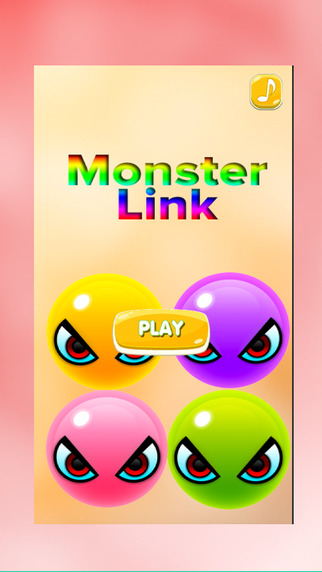 Monster link For Fun : Easy Free Play Games