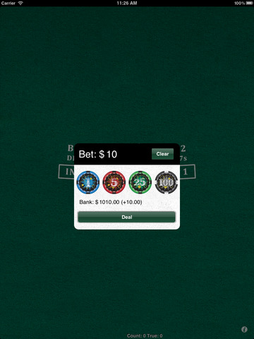 Blackjack tutorial ios