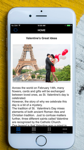 Valentine's Day - A Perfect Day Event Ideas