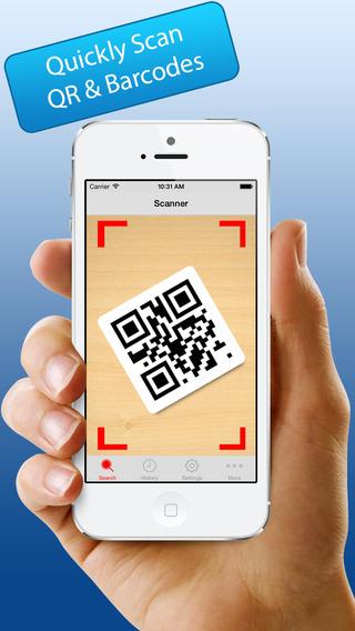 InstaScan QR Reader Barcode Scanner