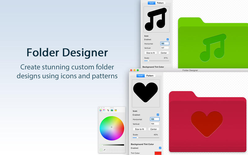 Folder Designer - Create Custom Folder Icons Screenshots
