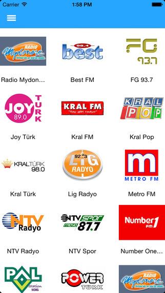 Radyo 15000'den fazla radyo tek uygulamada