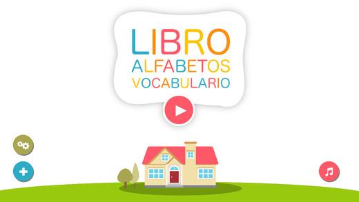 Libro de vocabulario alfabético para niños Diccionario alfabético para Jardín de infantes y preescol