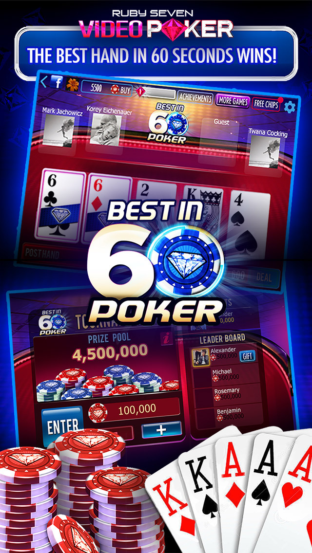 Free poker games for iphone