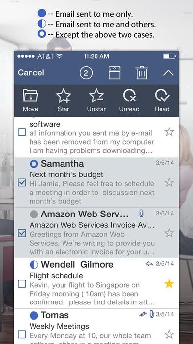 Bext Mail Screenshot