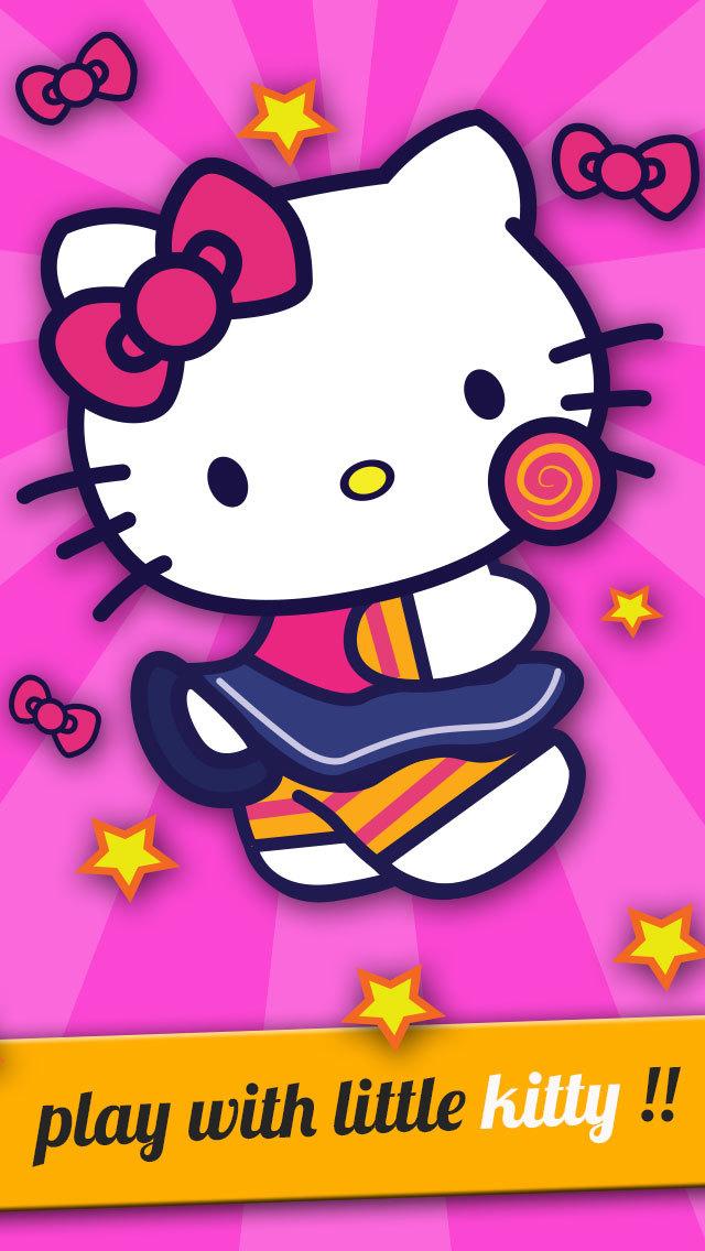 A Cutie Pie Kitten Fly - Jump Adventure Of A Hello Kitty