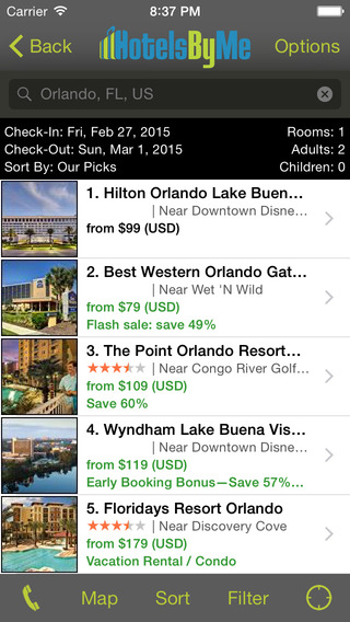 Orlando Hotels - HotelsByMe.com