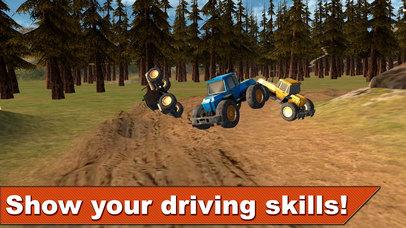 Farming Tractor Racing 3D Full screenshot 4