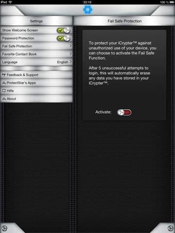 iCrypter: для надёжного шифрования сообщений Screenshot