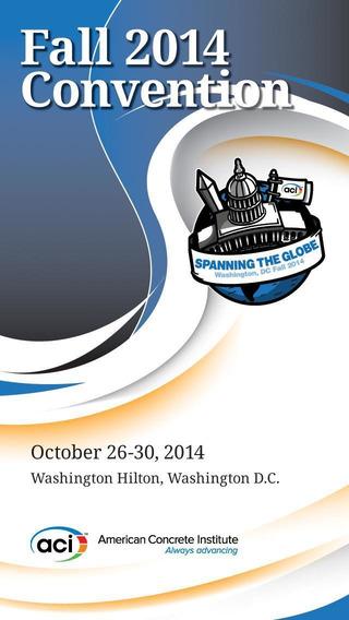 ACI Fall 2014 Convention