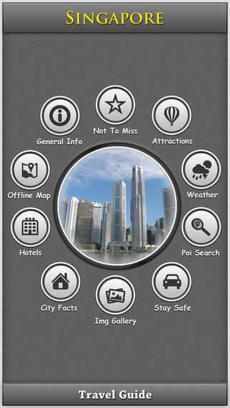 Singapore Offline Map City Guide